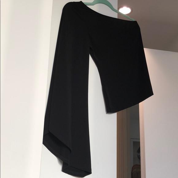 Nasty Gal Tops - Nasty Gal Black One Sleeve Top